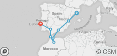 Iberian Coast - 8 destinations