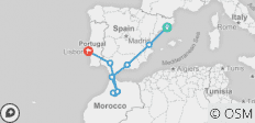 Iberian Coast - 10 destinations