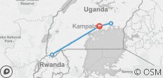Uganda Overland: Gorillas & Chimps - 5 destinations