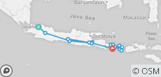 Indonesia Java, Bali & Lombok - 19 destinations