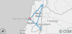 Heritage & Holy Land - 8 days - 8 destinations
