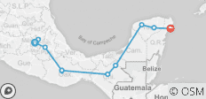 Mexico City To Playa Del Carmen Bolt - 12 destinations