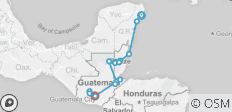 Playa Del Carmen To Antigua Bolt - 15 destinations