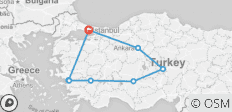 Turkey Encompassed - 9 destinations