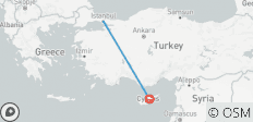 6 DAY NORTH CYPRUS - ISTANBUL COMBINED TOUR - 2 destinations