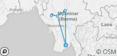 Trekking in Myanmar (Burma) - 12 destinations
