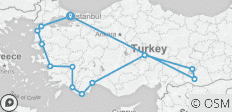 Turkey Explored - 13 destinations