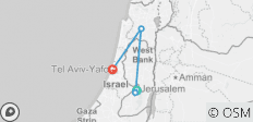 Journey Through Israel & the Palestinian Territories - 4 destinations