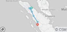 Highlights of Sumatra - 8 destinations