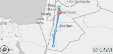 One week in Jordan - 6 destinations