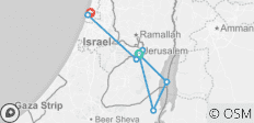 Five Days in Israel & the Palestinian Territories - 8 destinations