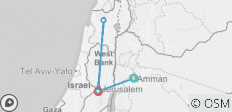 Essential Israel & the Palestinian Territories - 4 destinations