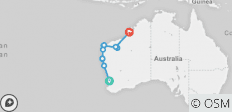 Perth to Broome Overland - 10 destinations