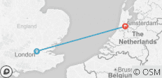 Amsterdam For New Year (End Amsterdam, 4 Days) - 2 destinations
