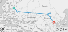 The Ruski Huski (from St Petersburg to Beijing) - 9 destinations