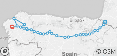 The Full Spanish Camino - 34 destinations