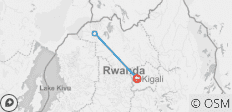 Mountain Gorillas of Rwanda - 3 destinations