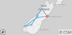 New Zealand South Island Explorer - 7 destinations