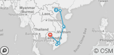 Best of Vietnam & Cambodia - 14 Days - 11 destinations