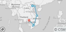 Best of Vietnam & Cambodia - 14 Days - 14 destinations