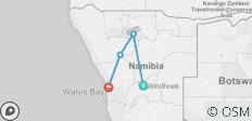 3 Day Etosha Express - 4 destinations