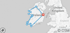 Wild Atlantic Way - Epic - 12 Days - 16 destinations