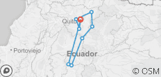 Ecuador Volcanoes Expedition - 9 destinations