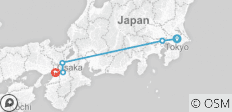Japan Kansai - 6 Tage - 5 Destinationen