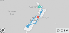 New Zealand Multisport (from Auckland to Picton) - 14 destinations