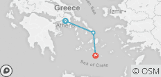 Athens+2 Island Explorer - 3 destinations