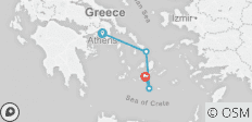 Athens+3 Island Explorer - 4 destinations