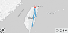 Taiwan East Coast - 5 Days - 5 destinations