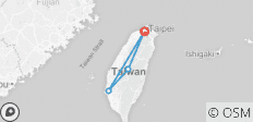 Taiwan West Coast - 6 Days - 4 destinations