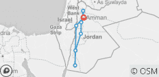 Jordan on a Shoestring - 8 destinations
