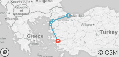 Istanbul - Gallipoli & Troy - Selcuk 2 Day Tour - 6 destinations