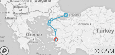 Istanbul - Gallipoli & Troy - Selcuk 3 Day Tour - 9 destinations