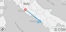 Rome 2 The Amalfi Coast- Blue Route - 8 destinations