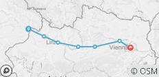 Austria - Passau to Vienna Cycling (from Passau to Vienna) - 7 destinations