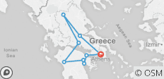 Taste of Greece Tour - 7 days - 9 destinations