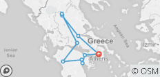 Taste of Greece Tour - 7 days - 10 destinations