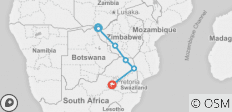 7 Day African Insight (Ex Livingstone) - 6 destinations