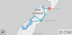 Pure Adrenalin (Ex Christchurch) 2019-20 - 20 destinations