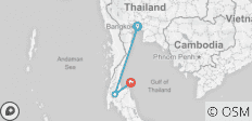 Full Moon Experience (from Bangkok to Koh Phangan) - 3 destinations