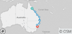 East Coast Beachin (Ex Cairns) 2019-20 - 11 destinations