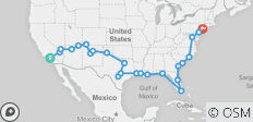 Road Trip USA (ex. Los Angeles) 2019/20 - 24 destinations