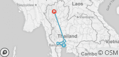 Bangkok to Chiang Mai Express - 4 destinations