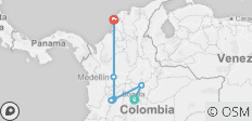 Colombia Express - 7 destinations