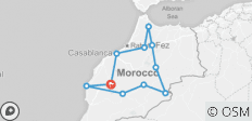 Morocco Encompassed - 15 Days - 11 destinations