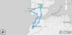 Spain, Morocco & Portugal - 12 destinations