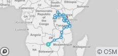 Gorillas, East Africa & the Zambezi (Victoria Falls to Nairobi) - 36 destinations